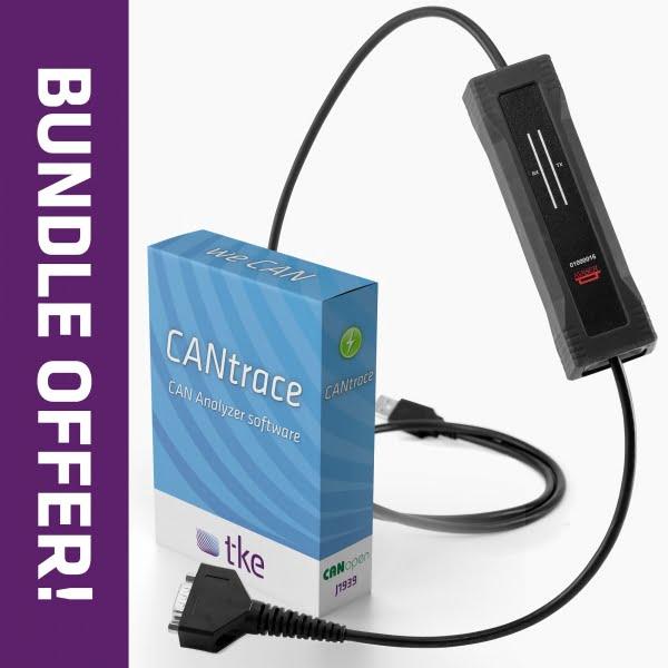 CANtrace / Kvaser U100 Bundle