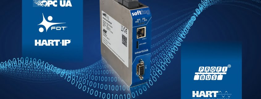SmartLink HW-DP from Softing Industrial Automation provides controller-independent access to PROFIBUS DP networks